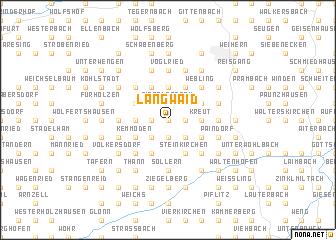 map of Langwaid