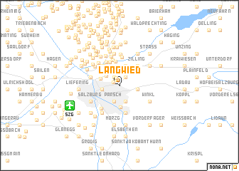 map of Langwied
