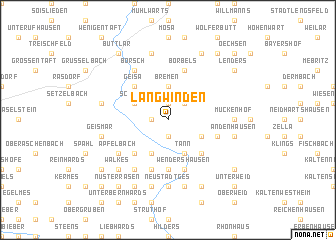map of Langwinden