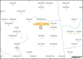 map of Langzang