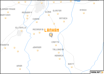 map of Lanham