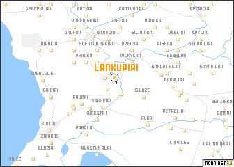 map of Lankupiai