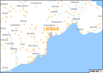 map of Lanquis