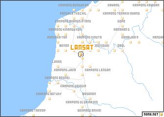 map of Lansat