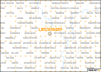 map of Lanzendorf