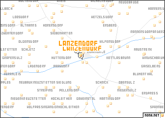 map of Lanzendorf