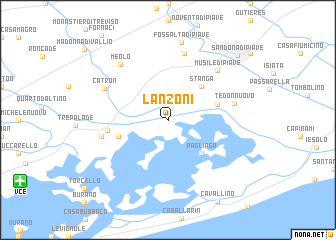 map of Lanzoni