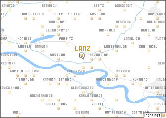map of Lanz