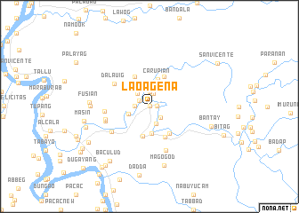 map of Laoageña