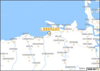 map of Lao-angon