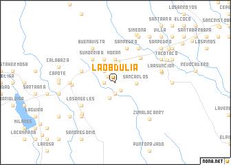 map of La Obdulia