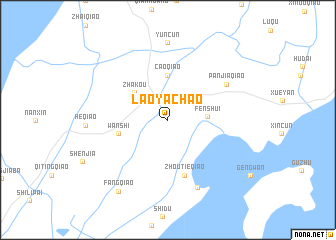 map of Laoyachao