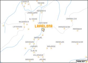 map of La Pailona