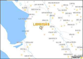 map of Lapardha