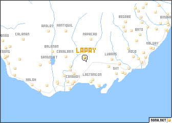 map of Lapay