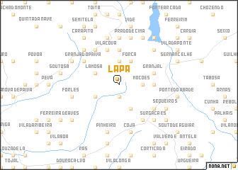 map of Lapa