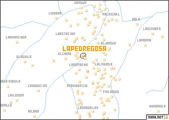 map of La Pedregosa