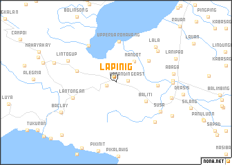 map of Lapinig