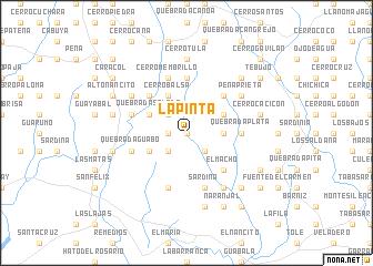 map of La Pinta