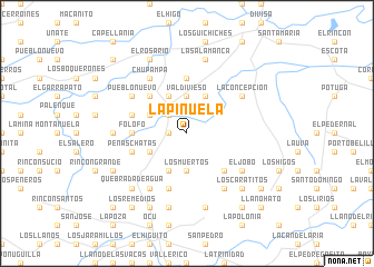 map of La Piñuela