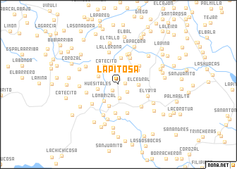 map of La Pitosa