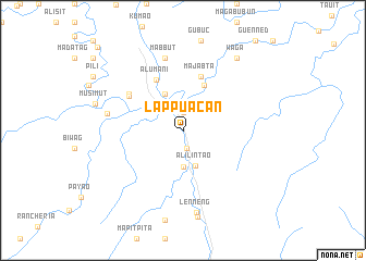 map of Lappuacan
