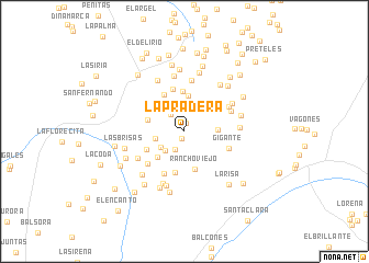 map of La Pradera
