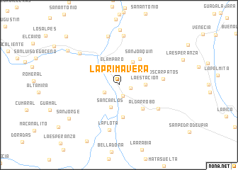 map of La Primavera