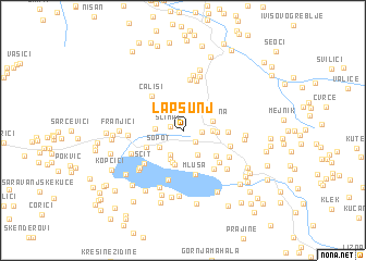 map of Lapsunj