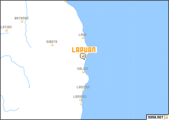 map of Lapuan