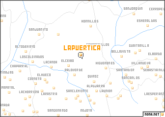 map of La Puertica