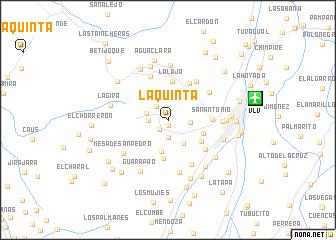 map of La Quinta