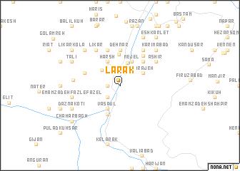 map of Lārak