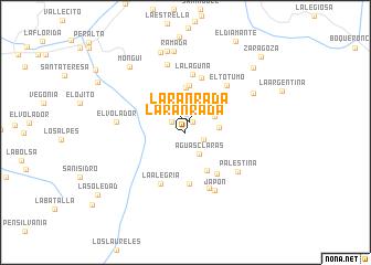 map of La Ranrada
