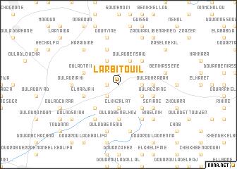 map of Larbi Touil