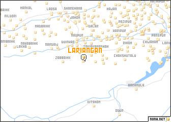 map of Lariāngan
