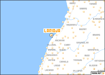 map of La Rioja