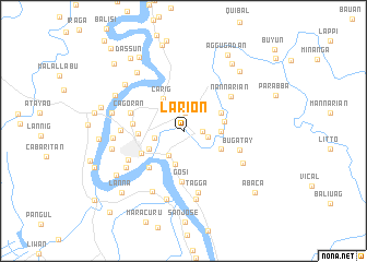 map of Larion