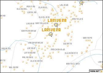 map of La Rivera