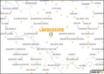 map of Laroussiine