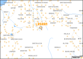map of Lasaan