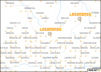Anonas map