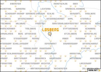 map of Lasberg