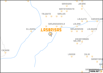 map of Las Brisas