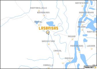map of Las Brisas