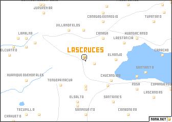 Las Cruces Mexico map nonanet