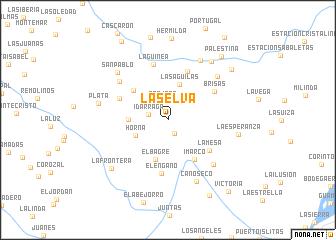map of La Selva