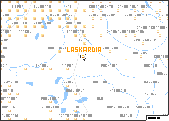 map of Laskardia