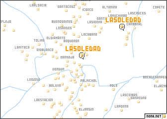 map of La Soledad