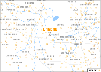 map of Lasong